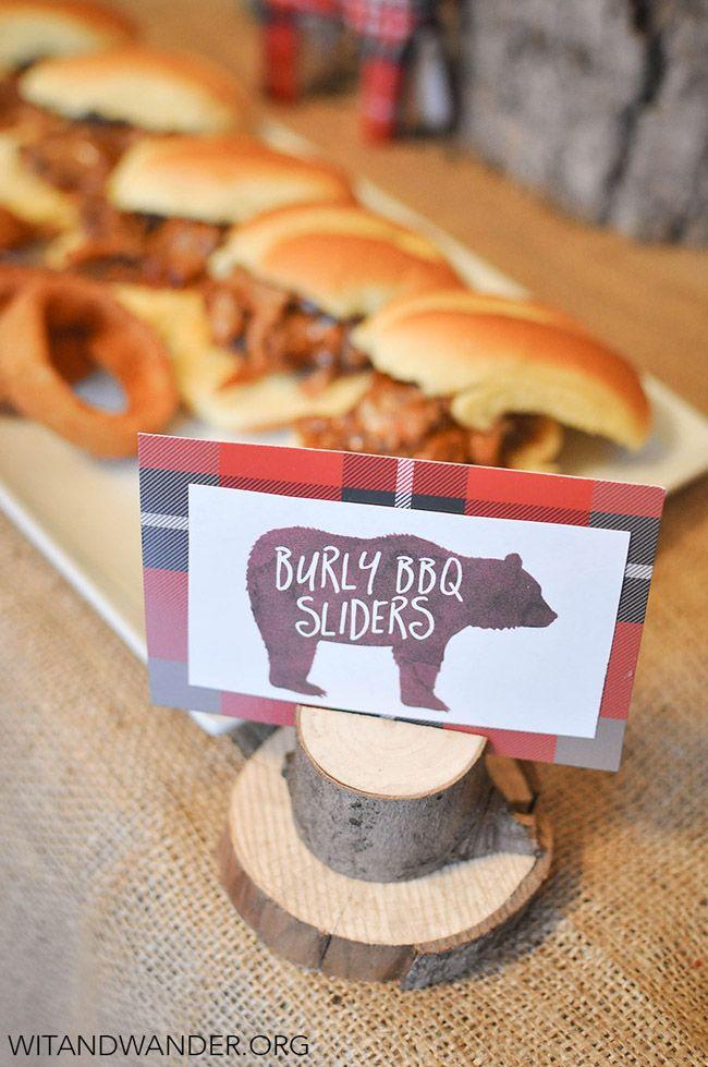 24 Lumberjack Themed Birthday Party Ideas   Themed birthday parties ...