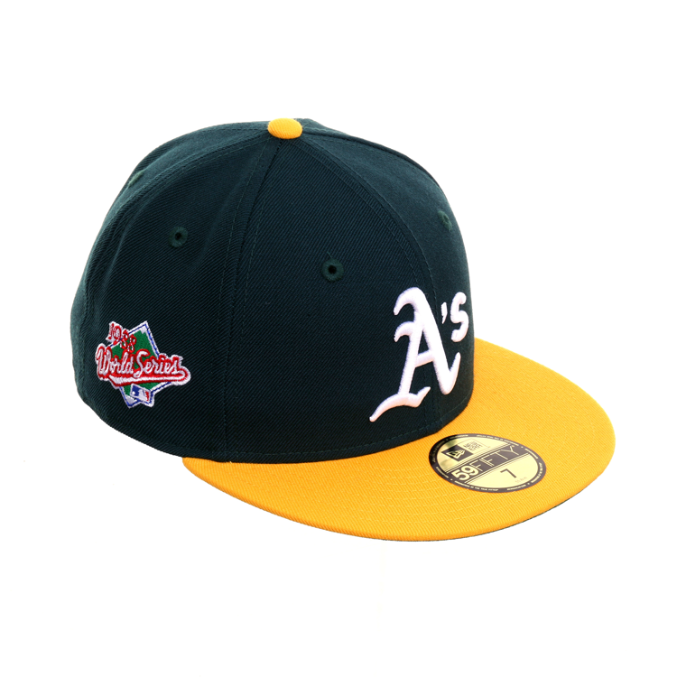 innovative design 07f8f 73552 New Era 59Fifty Oakland Athletics World Series 1988 Home Fitted Hat - 2T  Green,