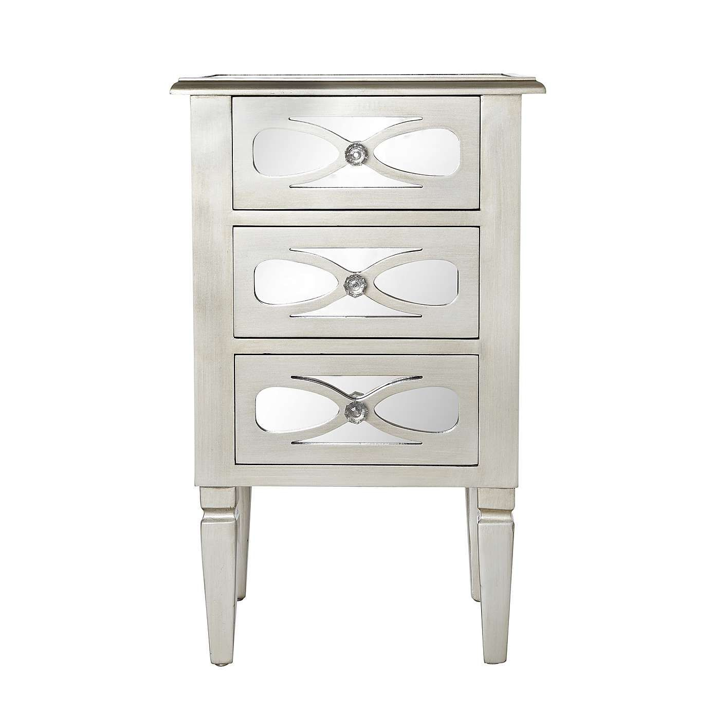 Best Nouveau Champagne 3 Drawer Bedside Table Dunelm 3 400 x 300