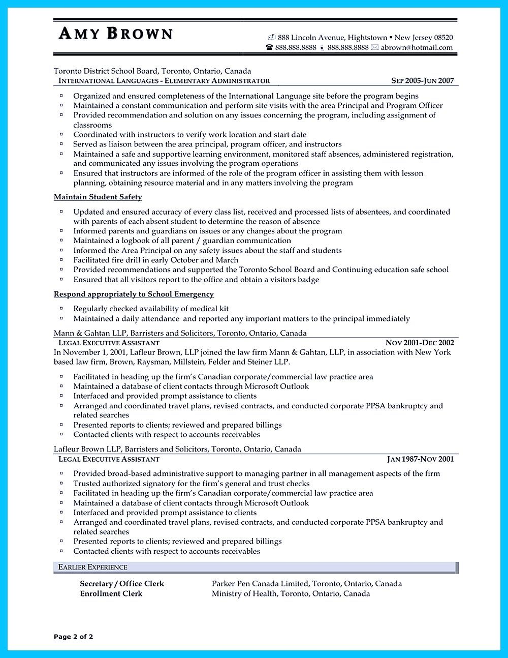 In writing entry level administrative assistant resume, you need to ...
