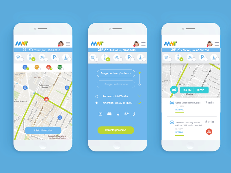 Mobility And Transport App