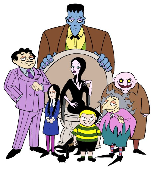 addams | Desenhos animados anos 90, Personagens de anime, Desenhos