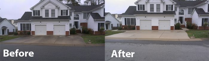 Driveway Pressure Washing Is A Great Way To Add Curb Appeal To