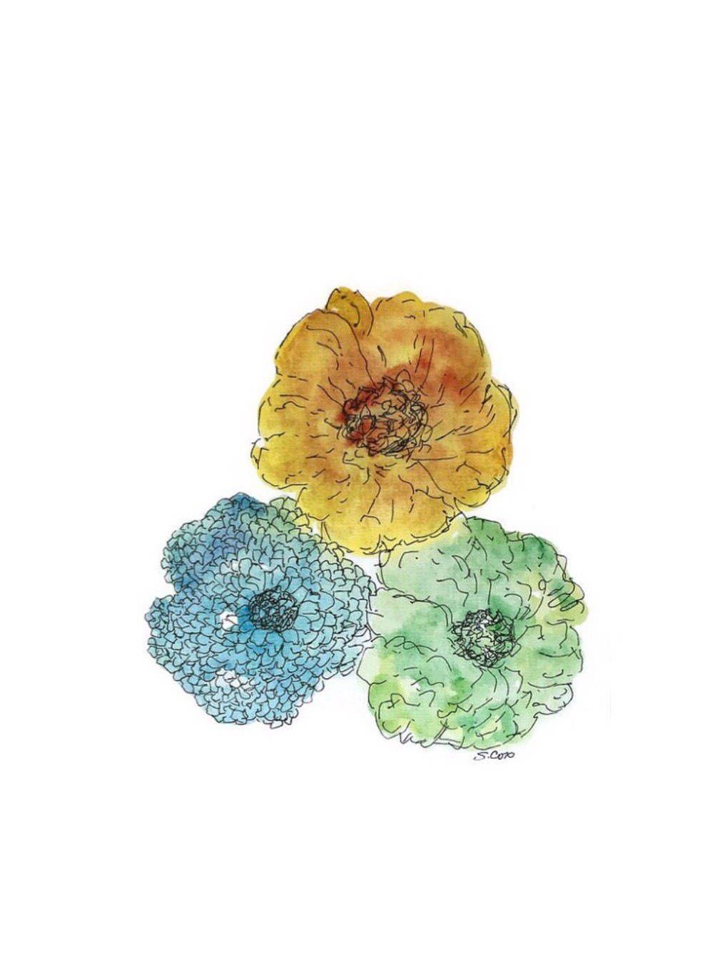 Pin On Watercolorartfinds Original Art