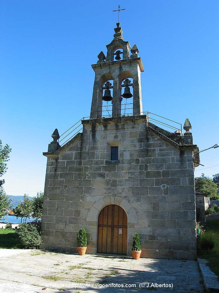 Iglesia E S Adrian De Cobres En Vilaboa Edificios Iglesia