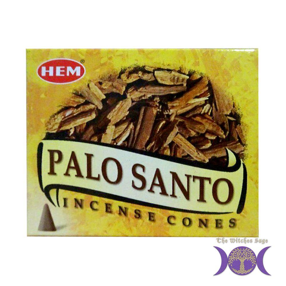 Hem palo santo incense cone incense cones palo santo cones
