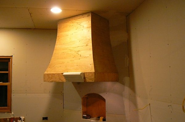 Diy Oven Range Hood Cover To Be Covered In Copper