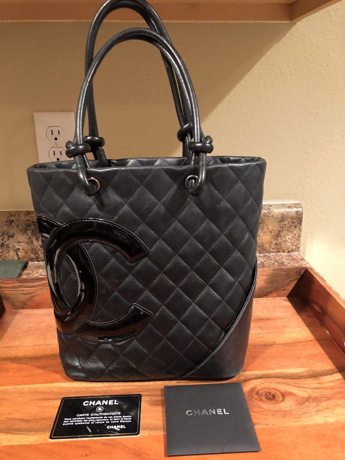 273730dc5d33 Chanel Quilted Tote Bag !00% Authentic (Purchased from Chanel Store) New   3495