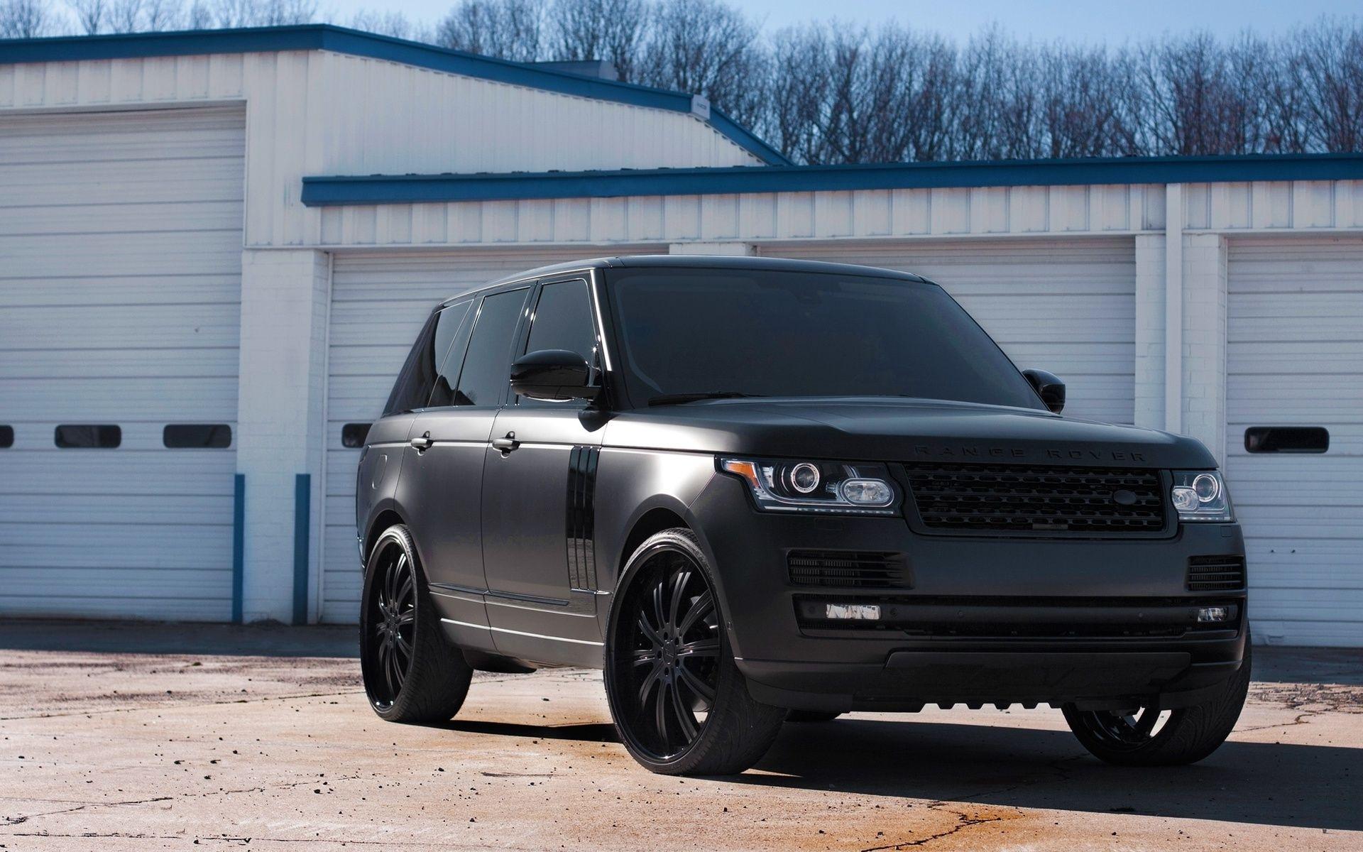 Range Rover Vogue Matte Black Range Rover Dream Cars Land Rover