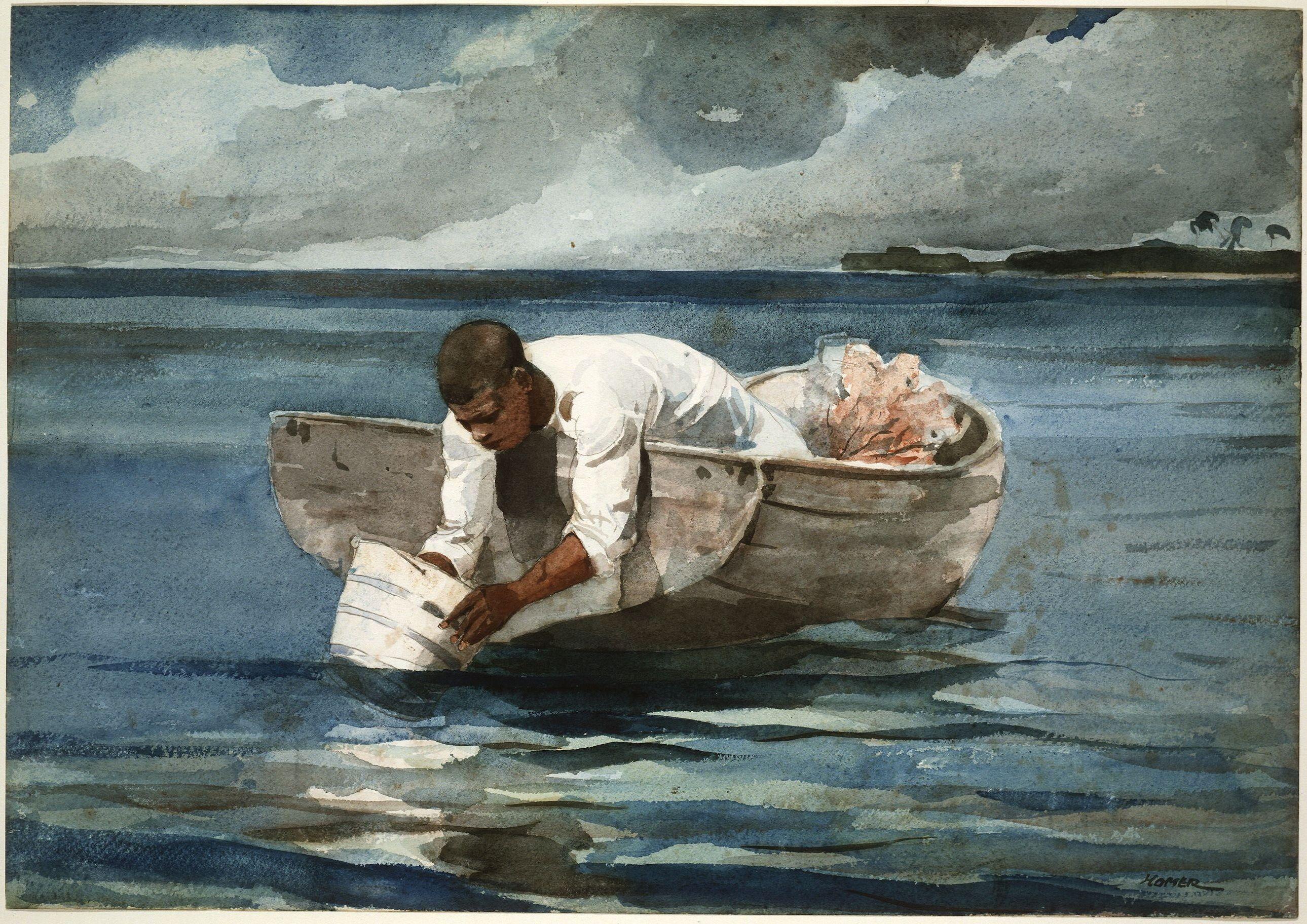 Winslow Homer 1890 Fl Art Csg047 Winslow Homer Winslow Homer