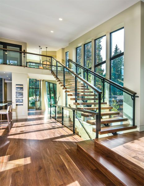 Modern leanings utah style  design also spectacular mountain home in park city foyers and rh pinterest
