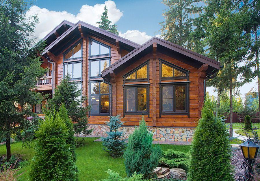 Экологичный дом из клееного бруса | Дома из клееного бруса ...