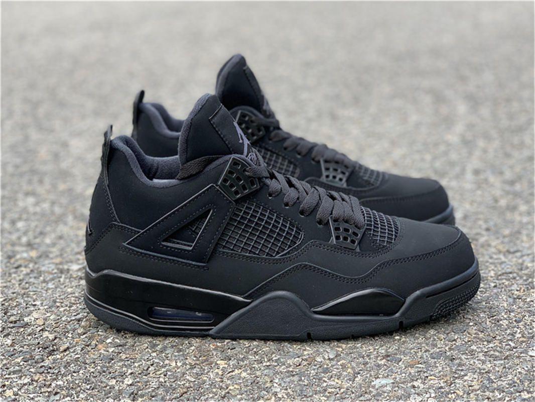 """Authentic Air Jordan 4 """"Black Cat"""" in 2020 Jordan shoes"""