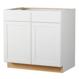 white base cabinet for storage in laundry room kitchen on lowe s laundry room storage cabinets id=56498