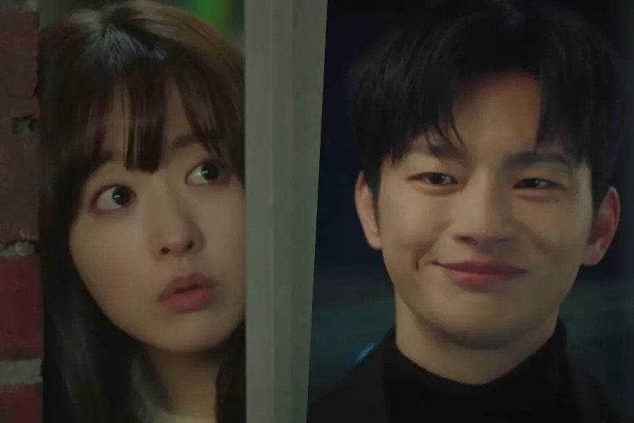 "Watch: Seo In Guk Mysteriously Shows Up At Park Bo Young's Door In 1st Teaser For ""Doom At Your Service"""