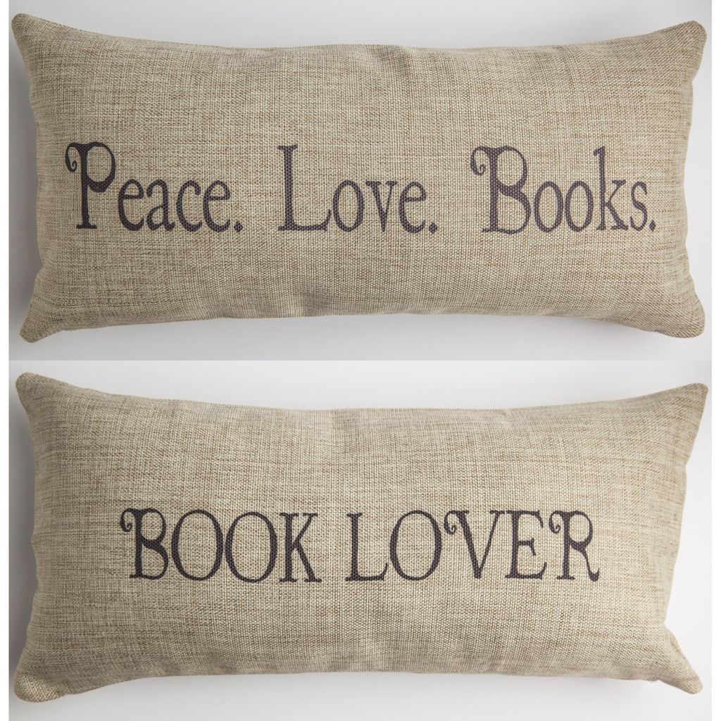BOOKS PILLOW