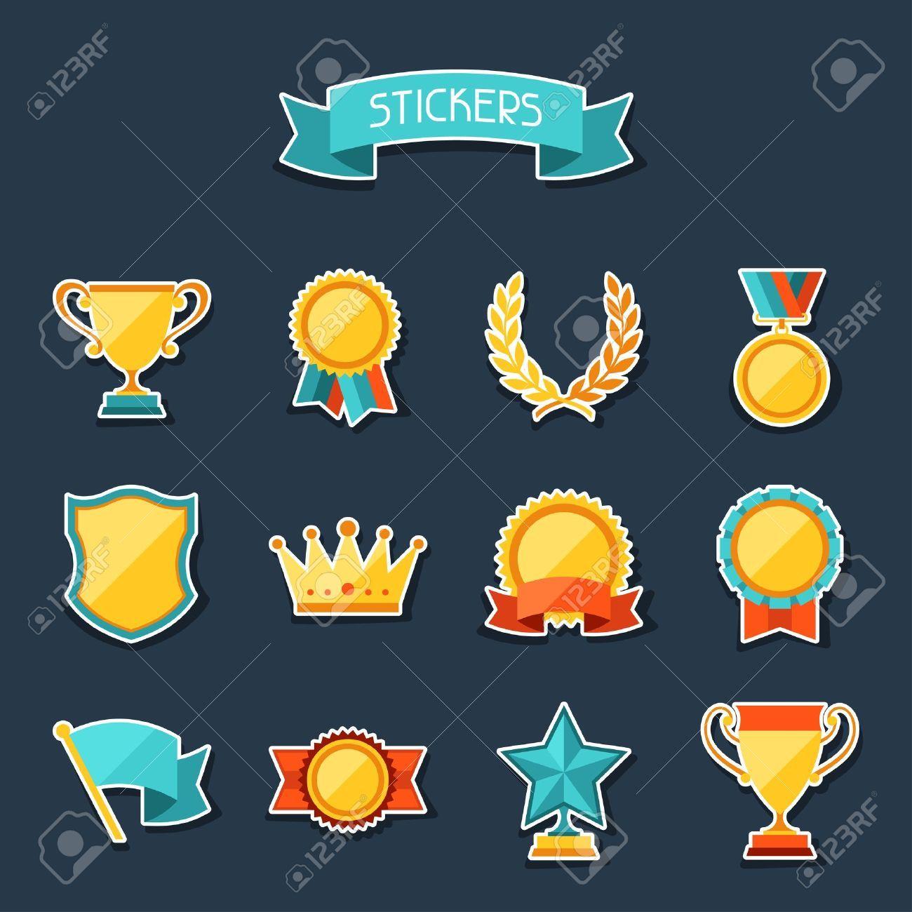 vector achievements set Google Search