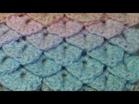 Haken Tutorial Krokodillensteek Youtube Crochet Video
