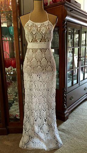 Chrysanthemum Gown pattern by Chi Krneta