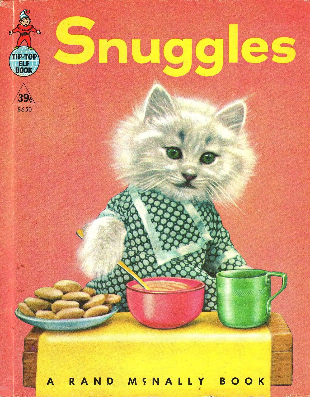 Snuggles A Real Live Animal Book By Harry Whittier Frees Animal Book Cat Books Books