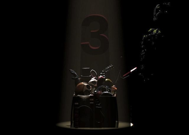 Brighten The Pic And You Will See Springtrap In In The Background