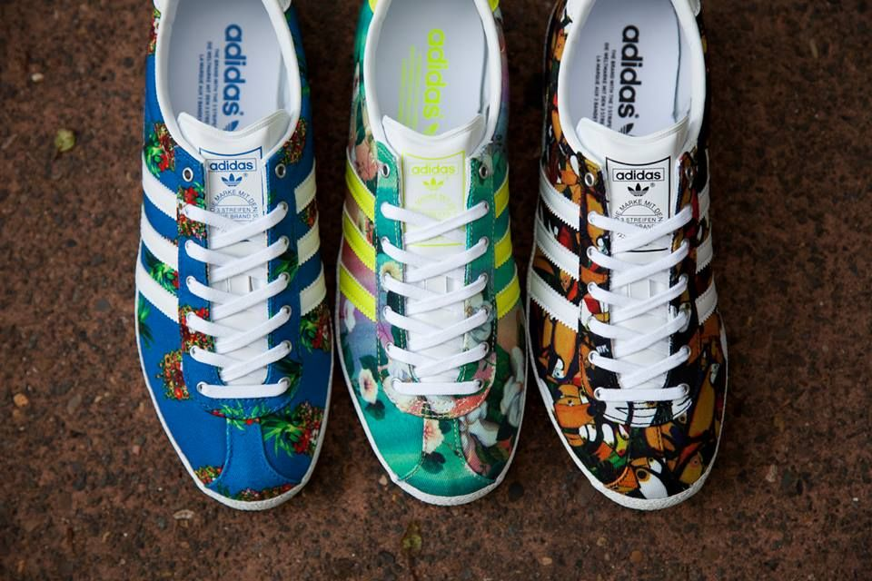 tout neuf 6cc39 462ca adidas gazelle flowers edition | Style | Adidas gazelle ...
