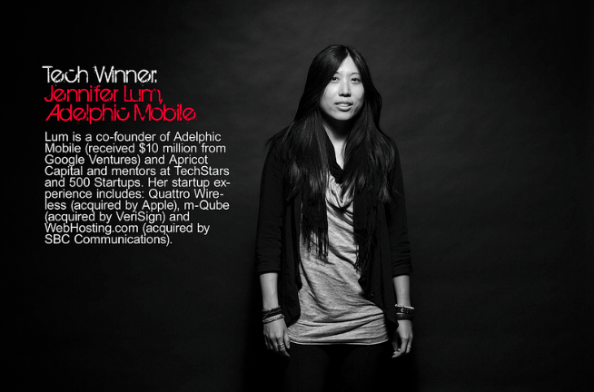 Jennifer Lum, Co-Founder of Adelphic Mobile and angel investor