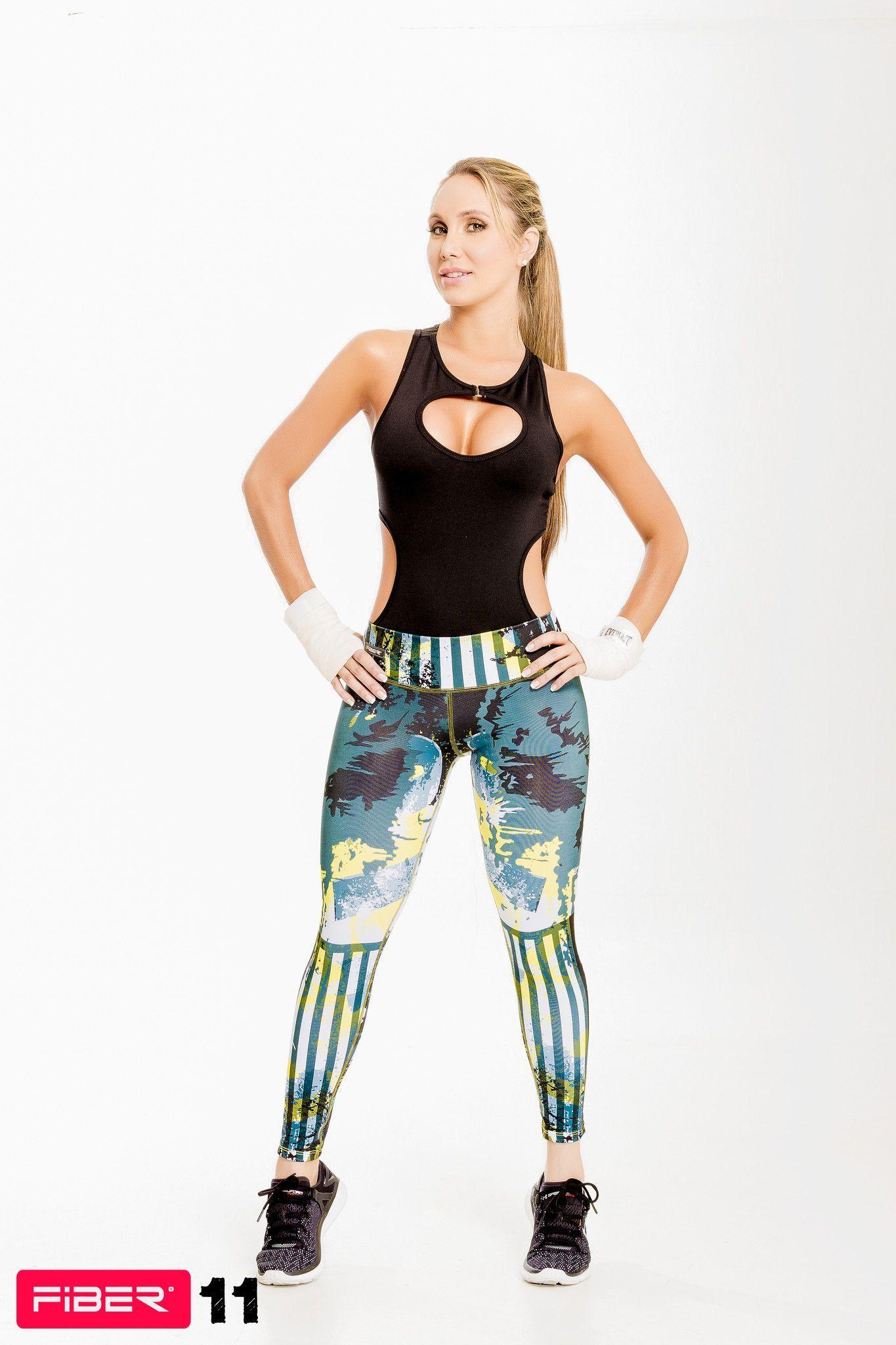 d97b3cddd4030 Colombian Workout Pants Body Shape Leggings Pilates Cross fit Fitness FIBER  11