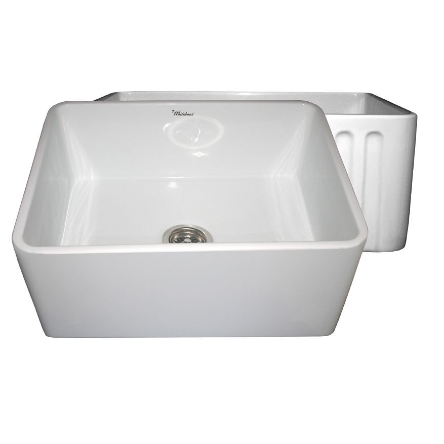 Reversible Series Fireclay Sink (White)