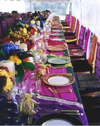 Table Decorations Moroccan Themed Wedding