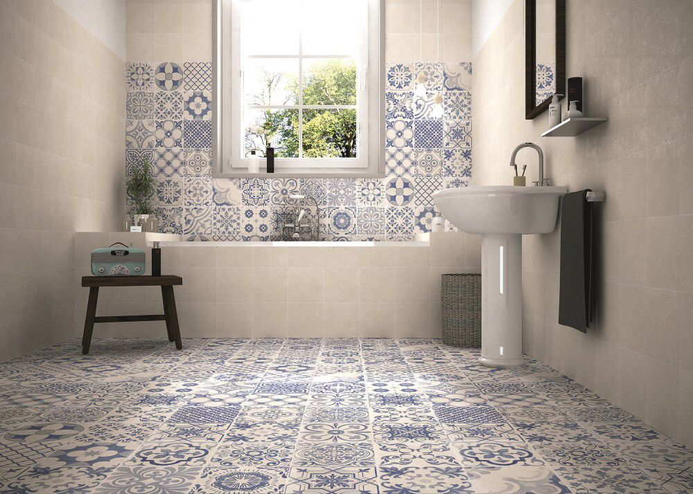 Love the tiles on the floor only stuff pinterest shelves and house