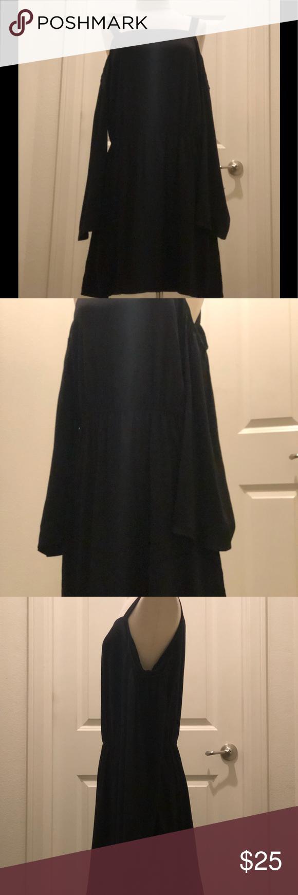 JustFab Cold Shoulder Dress Size Large NWT My Posh Picks