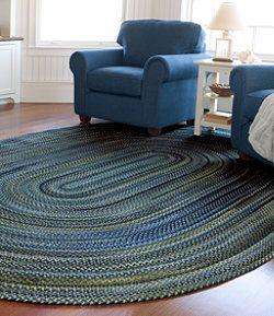 849 8 X11 Llbean Bean S Braided Wool Rug