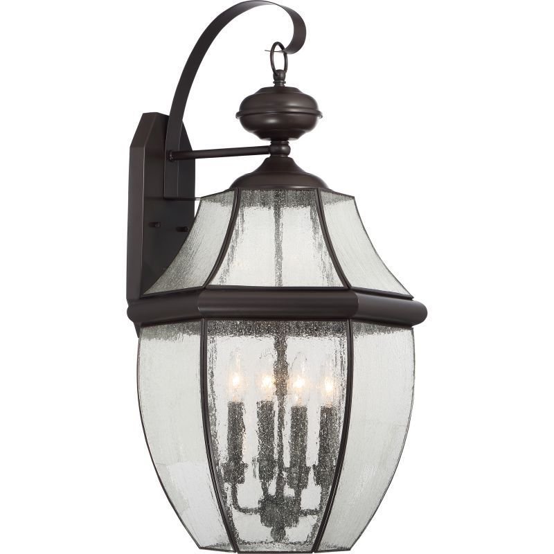 "Quoizel NY8416 Newbury Outdoor 4 Light 29"" Tall Outdoor Wall Sconce"