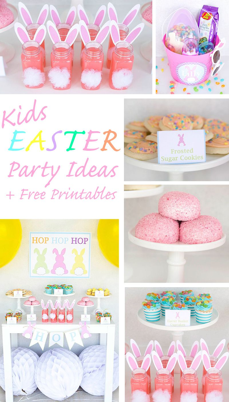 Kids Easter Party + Easter Basket Ideas & FREE Printables – With Jelly Belly