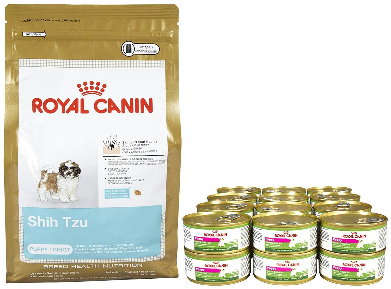 Royal Canin Breed Health Nutrition Shih Tzu Puppy Bundle Find Out More Details By Clicking The Image Dog Shih Tzu Puppy Health And Nutrition Royal Canin