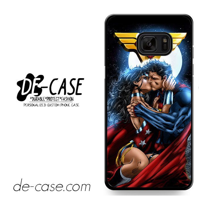 Superman And Wonder Woman Romantic Kiss DEAL-10286 Samsung Phonecase Cover For Samsung Galaxy Note 7