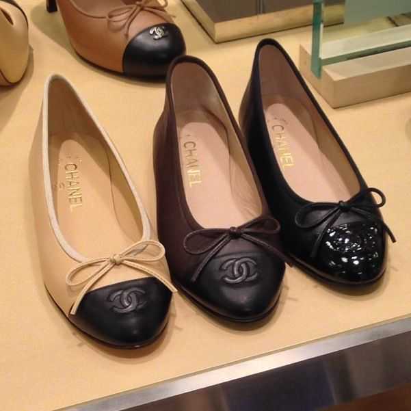 Chanel flats - simple beauties