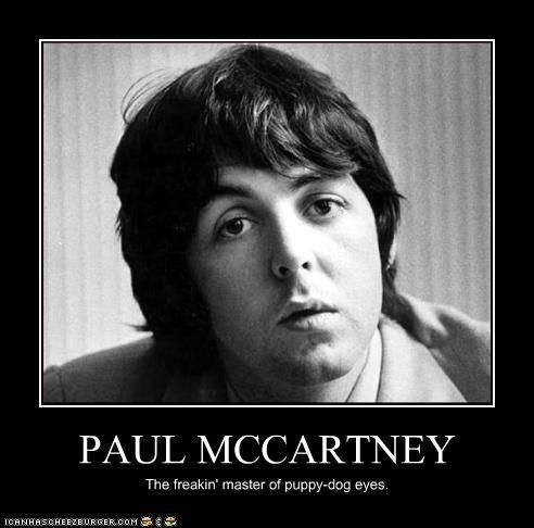 Image Result For Paul Mccartney Puppy Dog Eyes