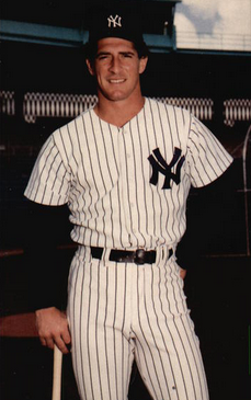 Mike Pagliarulo Ny Yankees New York Yankees Yankees Baseball