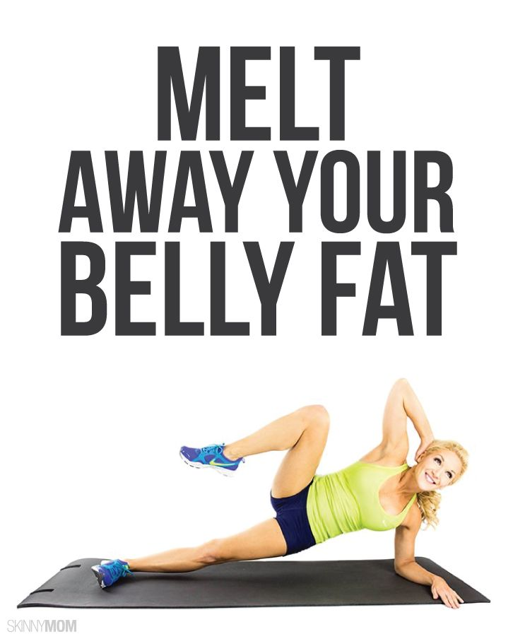 Kiss your belly fat GOODBYE with these moves!