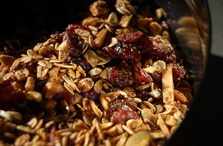 Photo of cranberry granola