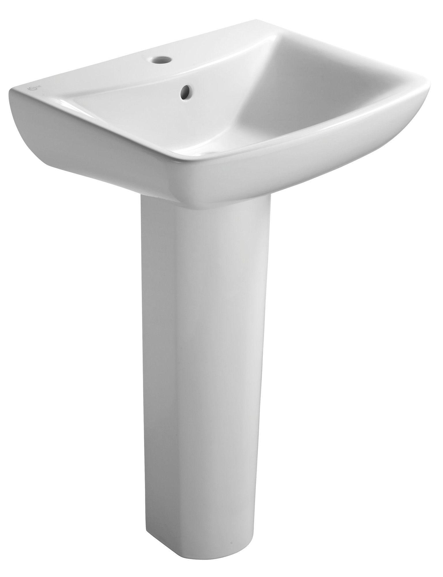 Ideal Standard Vue Full Pedestal Basin