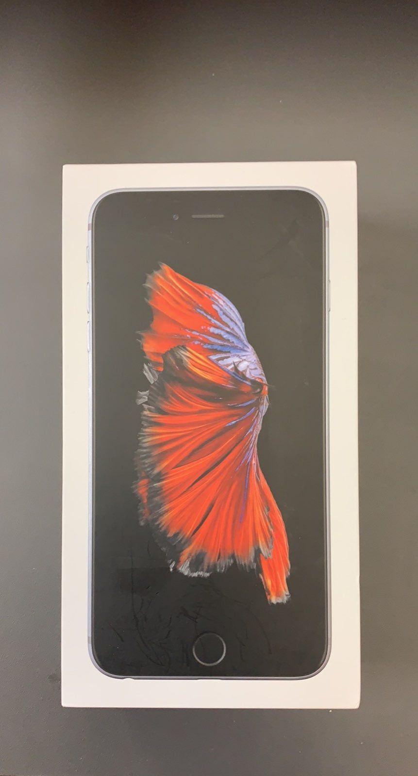 Boost mobile iphone 6s plus 32gb space gray original box