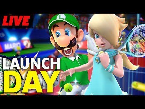 Mario Tennis Aces Launch Day Livestream Mario, Product