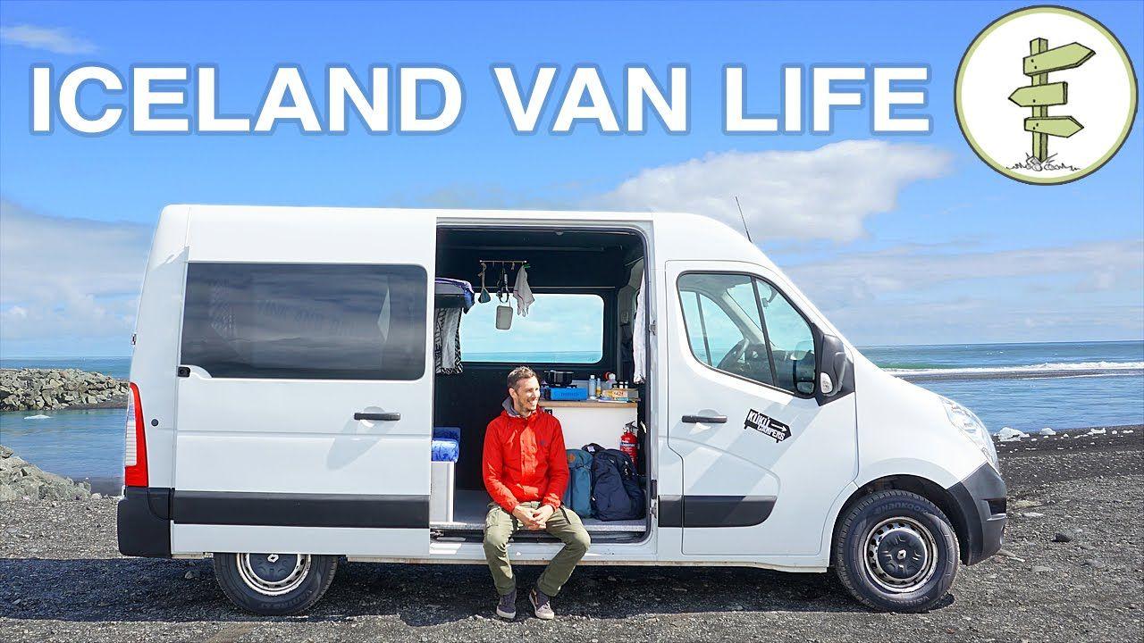 Epic Van Life Adventure In Iceland Sprinter Camper Van Tour