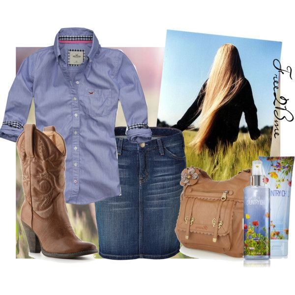 Country Chic, created by free2bmeforever on Polyvore