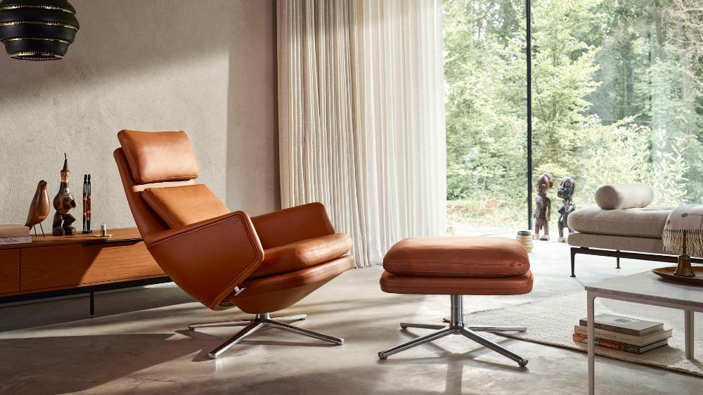 Vitra Grand Relax Ottoman En 2020 Architecte Interieur Maison Mobilier Design