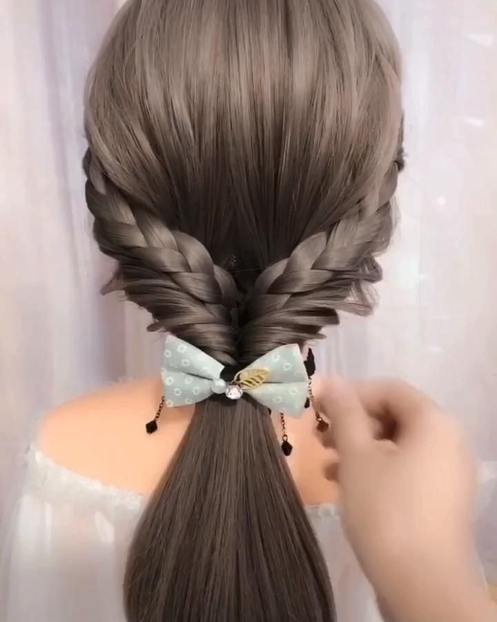 Party hair style inspiration.