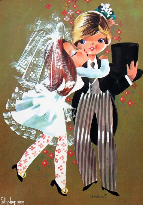 Vintage Postcard Big Eyed Kids Art Pinterest Vintage And Karten